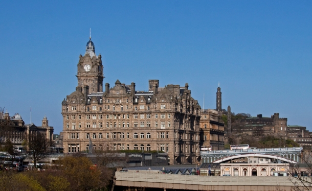 Tourists could soon face additional charges for staying overnight in Edinburgh (photo by Tony Hisgett/Flickr)