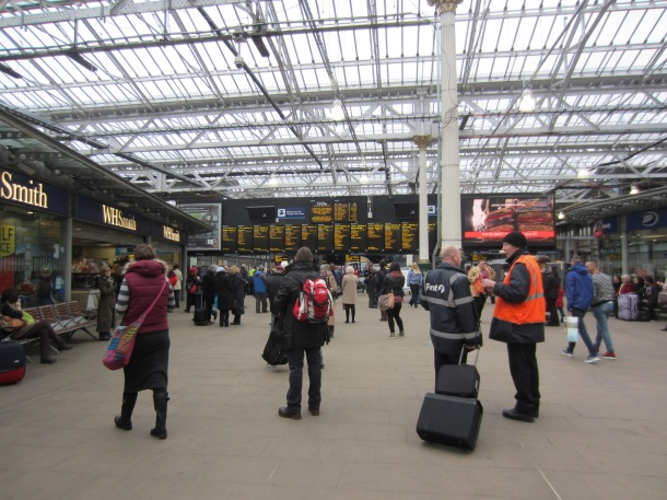 The incident took place just after the train left Waverley Station on Saturday (photo credit: Dainiel/Flickr)
