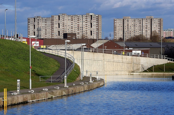 Port Dundas in Glasgow