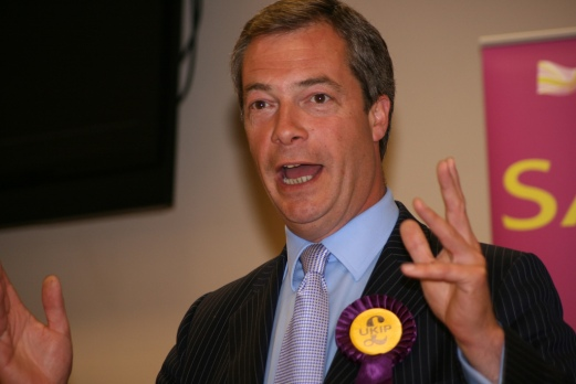 Farage is back as UKIP leader