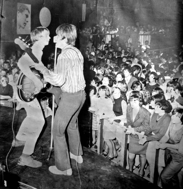 The Moonrakers at McGoos in the 1960s.